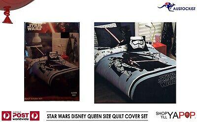 Star Wars Single//US Twin Bed Quilt Doona Duvet Cover set Blast Trooper
