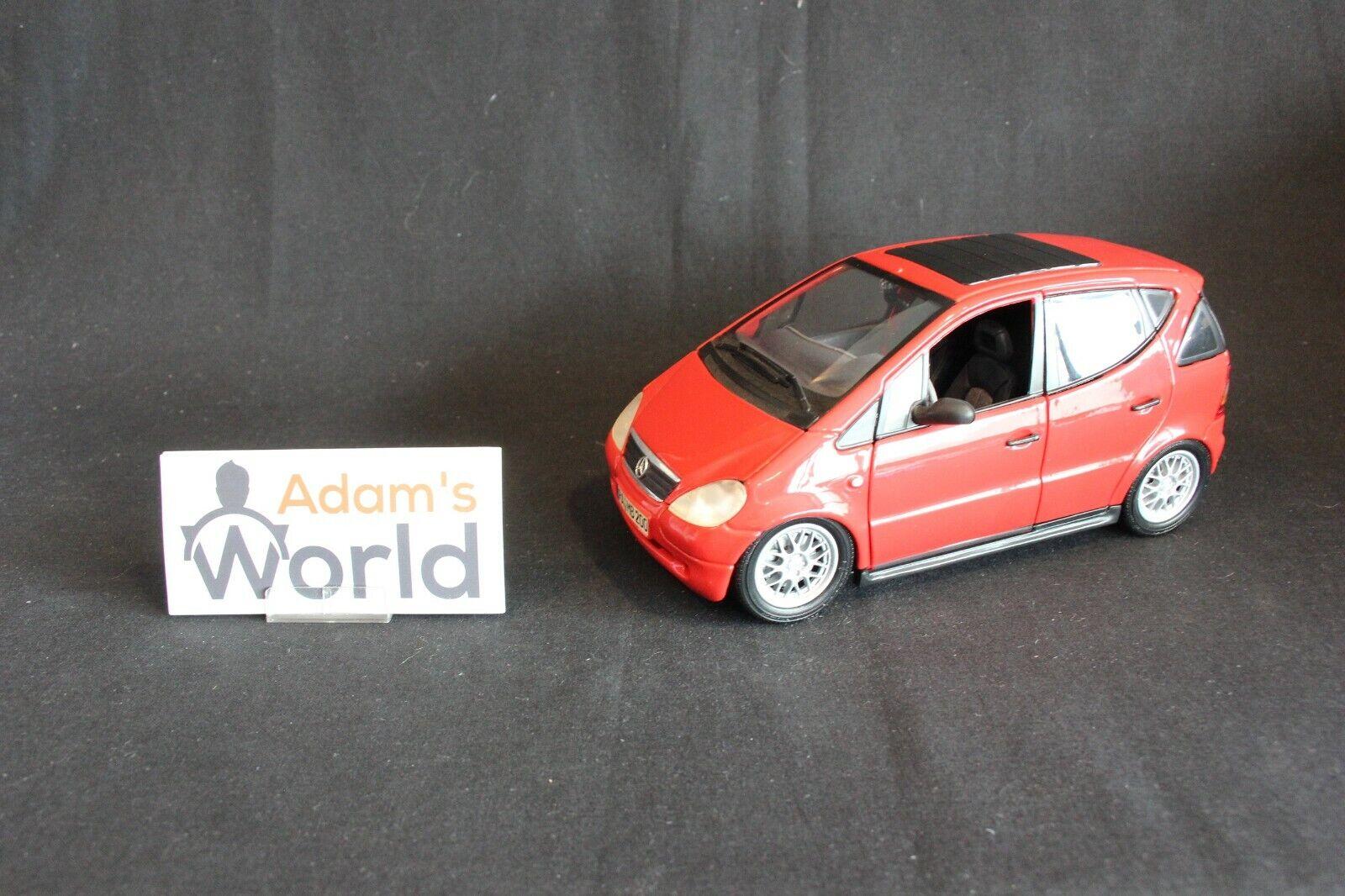 Maisto Mercedes-Benz A-Class 1 18 red,  tuning  NB (JS)