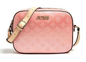 Women's Kamryn Cross Body Bag Top Zip Peach