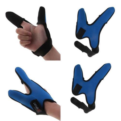 Drachenfliegen, 2 Stück Daumen Zeigefinger Handschuh Geeignet zum Angeln
