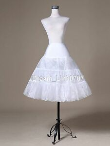 72ce72967d28c Image is loading White-Tea-Length-Swing-Vintage-Silps-Crinoline-Petticoat-