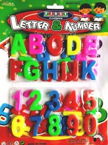 MAGNETIC LETTERS OR NUMBERS FRIDGE MAGNETS LEARNING /& TEACHING KIDS Educational