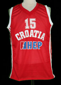 best website 2bc6d 5c1c6 Details about DARIO SARIC CROATIA BASKETBALL JERSEY SEWN NEW ANY SIZE