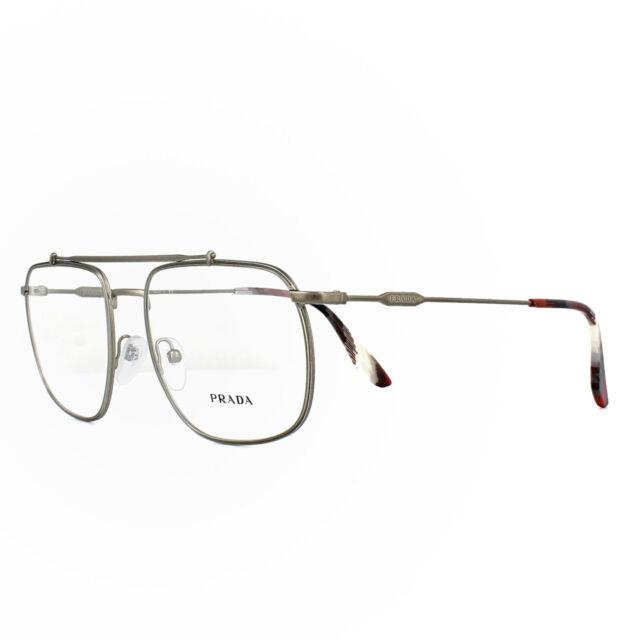 2b7026c7782 Authentic PRADA Pr56uv - Vix1o1 Eyeglasses Matte Brown 55mm for sale ...