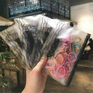 100x-Girl-Kids-Elastic-Rubber-Hair-Ties-Band-Ropes-Ponytail-Holder-Scrunchie-AU
