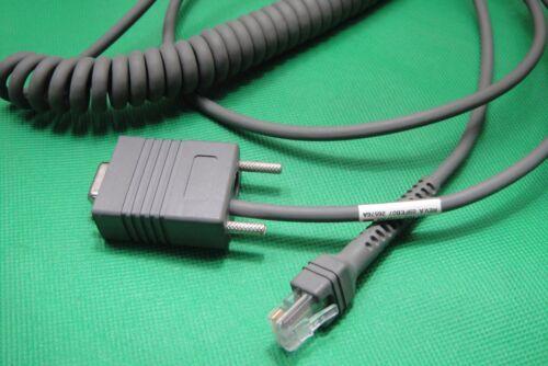 Original Motorola Symbol CBA-R02-C09PAR Coiled Cable for DS3407 BARCODE SCANNER