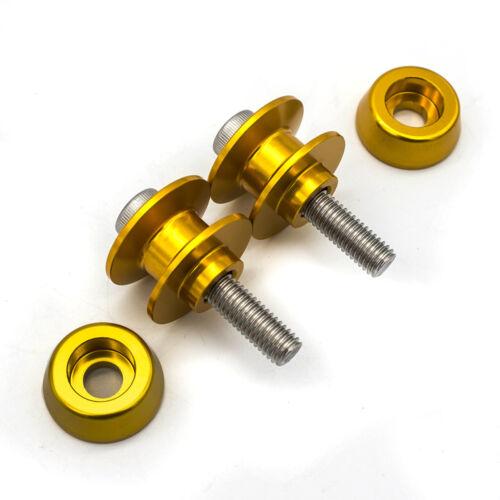 Swingarm Spools Sliders 8mm For CBR600F2 F3 F4 F4i RVT1000 RC51 CBR900RR
