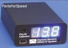Daytona Sensors WEGO IV Wideband O2 AFR Gauge Kit Data Logging
