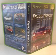 Original XBOX PGR ***MIB*** XBOX PAL 2 Project Gotham Racing