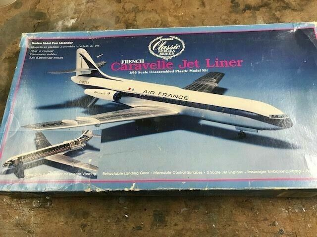 United Caravelle Pointerdog7 decals for 1//100 scale Revell kit