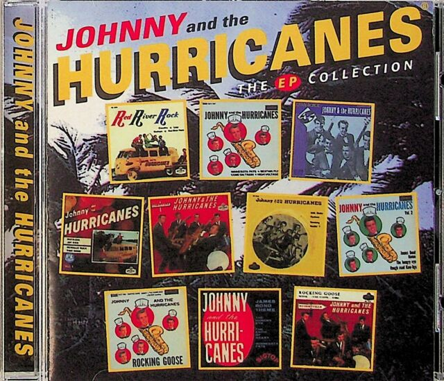 JOHNNY AND THE HURRICANES- EP Collection CD (2000) Red River Rock/Rocking Goose