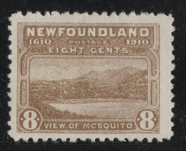 #93i   MCSQUITO Variety Newfoundland Canada mint well centered RARE