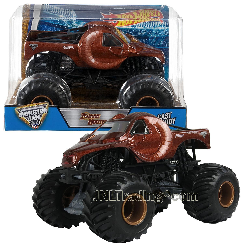 Hot Wheels Dhy71 Monster Jam Zombie Hunter Ram Truck 1 24 For Sale Online Ebay