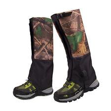 2pc/set  Double Layer Walking Hunting Hiking Snow Snake Gaiters Legging Gaiter