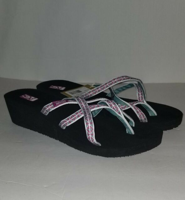 1ef3f84aa Women s Teva Mush Mandalyn Wedge Ola 2 Sandals Wonders Magenta Size ...