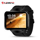 New Lemfo LEM4 Wireless Bluetooth 4G SIM GPS Smart Watch Wrist Phone For Android