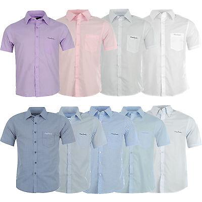 Frank Pierre Cardin Herren Hemd Kurzarm Freizeithemd Business Shirt S M L 2xl 3xl 4xl Weich Und Leicht
