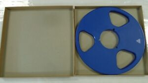 """Tape Reel boxes for 10 1//2/"""" X 1//4/"""" reels with NAB center hubs Lot of 10 boxes!!"""