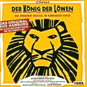 Der-Koenig-der-Loewen-Dt-Version-CD-19-TRACKS-MUSICAL-SOUNDTRACK-NEU