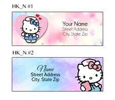 Hello Kitty Nurse Address Labels 30 Per Sheet 2 Designs To Choose From