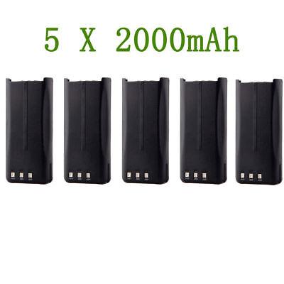2000mA KNB-45L Battery for KENWOOD TK-3200L TK-2200LP TK-2212L TK-3212L