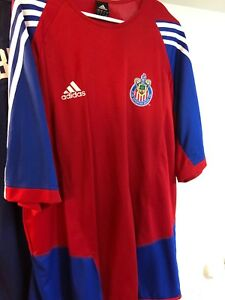 on sale d4094 e475f Details about Club Deportivo Chivas USA (DEFUNCT) Adidas XXL Replica Jersey