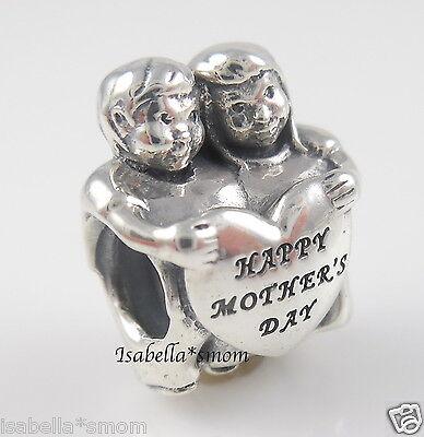 From Us Genuine Pandora Kids Children Happy Mother S Day Heart Charm 791517 New Ebay
