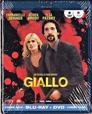 Dario Argento GIALLO. combo BLU-RAY y DVD. Tarifa plana envío España, 5 €