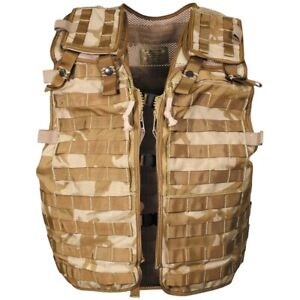 Brit-Weste-034-Load-Carrying-034-034-MOLLE-034-DPM-desert-neuw-Original-Armee-Surplus