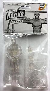 Boss Fight Studios Vitruvian HACKS Male Blank (Crystal Clear)