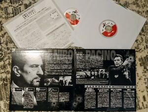 HEAT 1995 LASER DISC LD Al Pacino Robert De Niro made in Japan