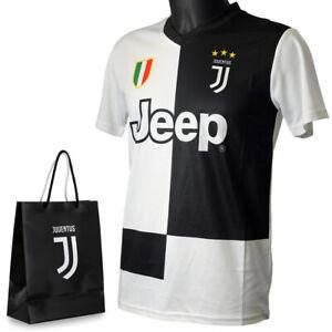 Juventus-Maglia-Tifoso-2019-20-Numero-7-Ronaldo-CR7-Uomo-Bambino-Sacchetto