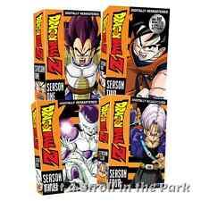 Dragonball Dragon Ball Z: Anime Series Complete Seasons 1 2 3 4 Box/DVD Sets NEW