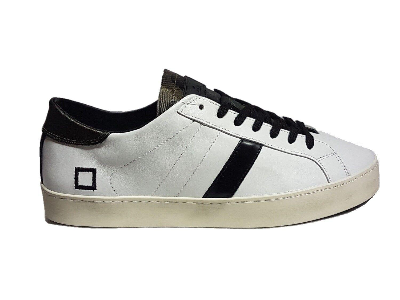 d.a.t.e. low sneakers uomo hill low d.a.t.e. pop white army n°43 8088e6