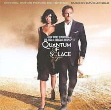QUANTUM OF SOLACE [Motion Picture Soundtrack] by David Arnold (CD) - NEW! L@@K!