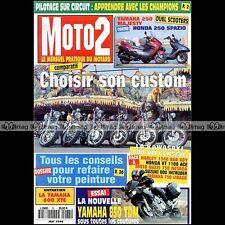MOTO 2 N°75 YAMAHA XV 750 VIRAGO 850 TDM SUZUKI 800 INTRUDER HARLEY BAD BOY 1996