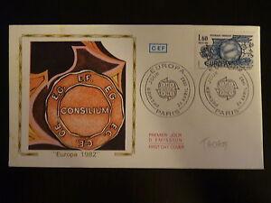 Diplomatique France Premier Jour Fdc Yvert 2207 Traite De Rome 1,60f Paris 1982 ExtrêMement Efficace Pour Conserver La Chaleur