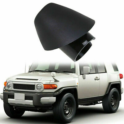 Fit Toyota FJ Cruiser 2007-2014 Antenna Ornament Bezel Base Rubber Adapter Trim