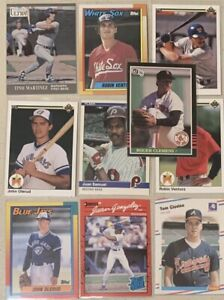ROGER CLEMENS ROOKIE  1985 DONRUSS #273 +9 RC (10 cards total)