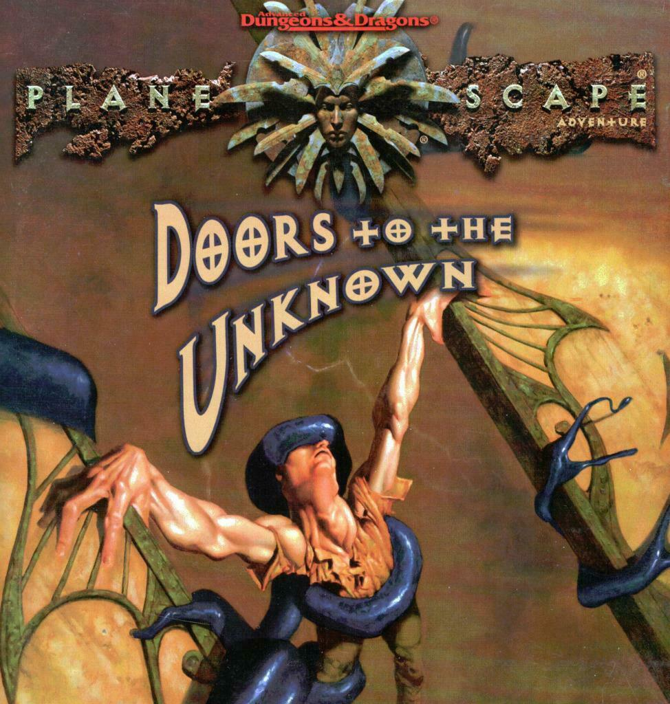 Doors to the Unknown w\ Map, Planescape, AD&D + Pages of MegaExtras