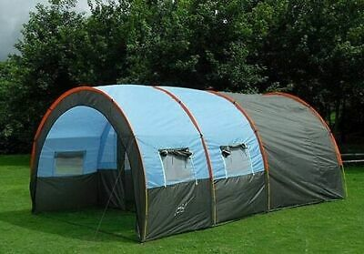 Windproof Tunnel Large Tent Outdoor Party Family Travel Hiking 5-8 person Use