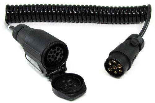 Câble Extension Adaptateur 4 km 13 et 7 broches voiture remorque 12 V