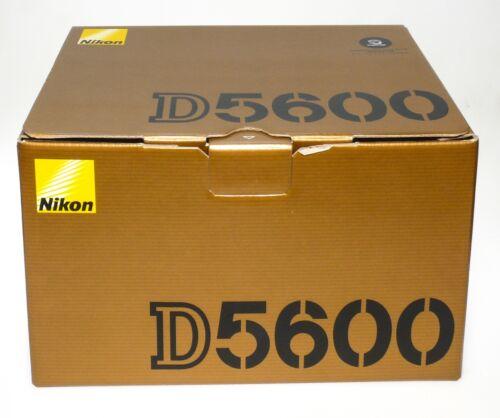 Nikon D5600   Empty BOX ONLY  Original Nikon