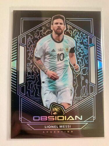 2019-20 Panini Obsidian #10 Lionel Messi //165