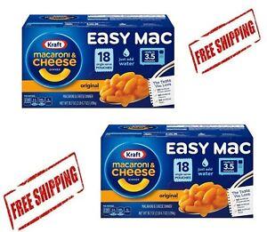 Kraft Easy Mac Microwavable Macaroni