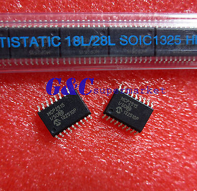 2PCS MCP2515-I/SO SOP-18 Stand-Alone CAN Controller NEW GOOD QUALITY S2