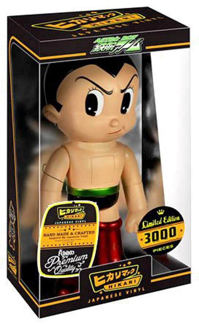 Astro boy nvs metallic hikari sofubi vinyl figure ltd 3000 worldwide