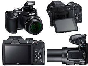Nikon COOLPIX B500 16 0MP Digital Camera Black WIFI NFC Latest
