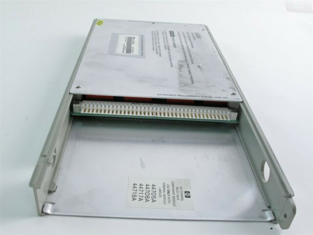 HP 44705A 20 Channel Relay Multiplexer With Connector Module for sale online