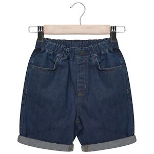 497075305a Boys Denim Shorts Kids Children's Pull On Summer Holiday With ...
